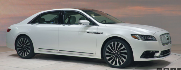 2019 LINCOLN CONTINENTAL AWD